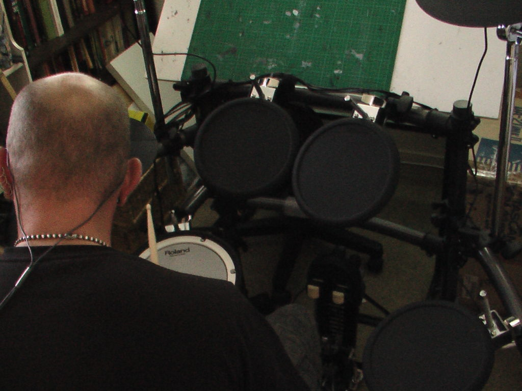 """15 Minutes"" -  Electronic Drum Tracking - r.neale"