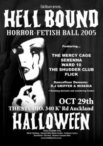Hellbound Fetish Ball Poster.